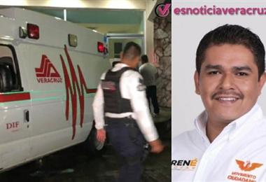 El candidato mexicano murió cuando era trasladado al hospital. Foto. Internet
