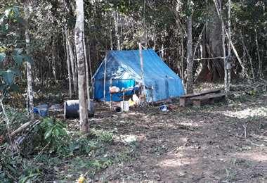 Desde hace semanas se denuncian avasallamientos en la zona chiquitana (foto referencial)