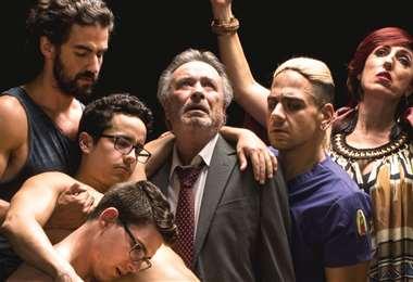 Tu me manques es protagonizada por Óscar Martínez, Rossy de Palma y Fernardo Barbosa