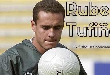 Rubén Tufiño, ex integrante de la selección. Foto: internet