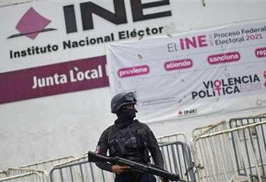 Las fuerzas de seguridad fueron desplegadas en todo el país