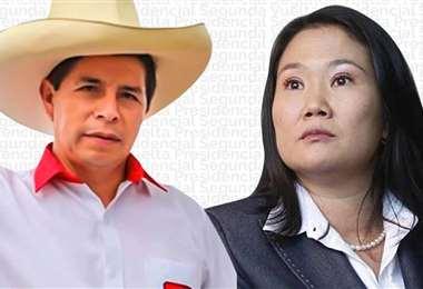 Los candidatos que luchan por la presidencia