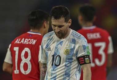 Lionel Messi, capitán de la selección argentina. Foto: AFP