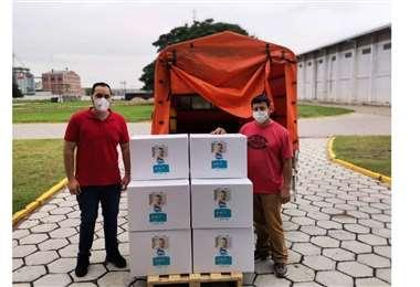 Continúan las donaciones de pañales Mi bebé a hogares de Bolivia