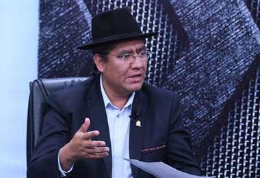 El embajador de Bolivia ante la ONU. Foto ABI