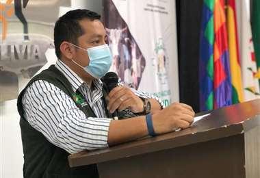 Nogales destacó el trabajo que realiza el Senasag (Foto: Senasag)