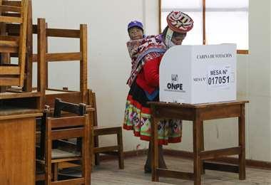 Apretado final en la segunda vuelta de las elecciones peruanas