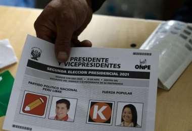 La ONPE recibió ayer un grupo de actas electorales del extranjero