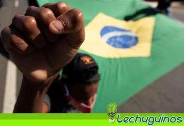 Las protestas de los brasileños siguen por la realización de la Copa América en ese país.