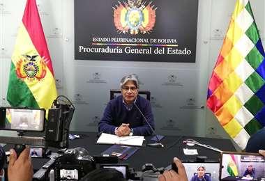 El procurador Wilfredo Chávez. Foto: Procuraduría General del Estado