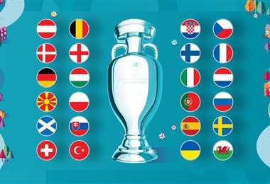 Cuenta regresiva para el inicio de la Eurocopa. Foto: Internet