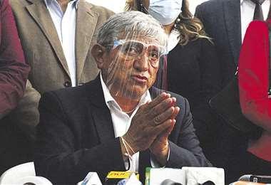 Foto archivo El Deber: Iván Arias planteará ante el COED determinar cuarentena.