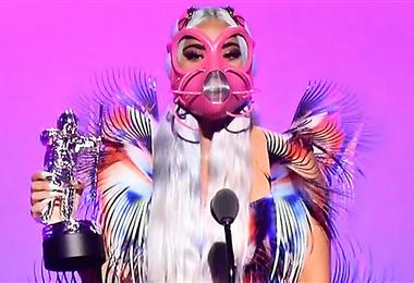 Lady Ga Ga en los premios MTV Music Awards 2020