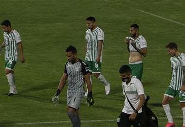 Los jugadores de Oriente paran como medida de presión. Foto: APG Noticias