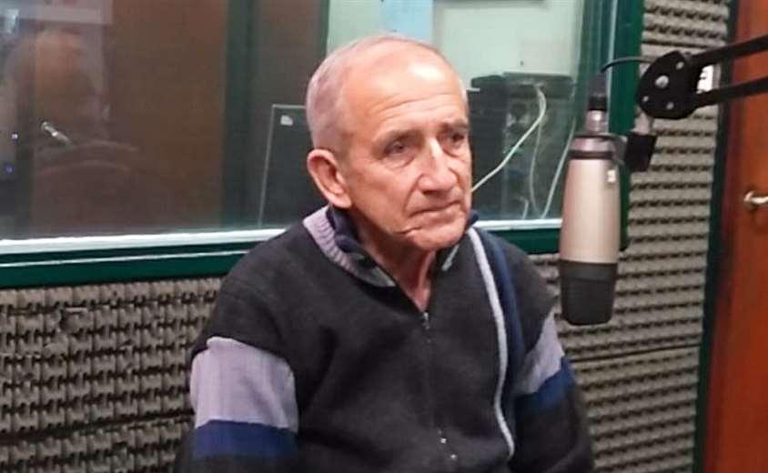René Domingo Taritolay, ex jugador de la selección nacional. Foto: internet