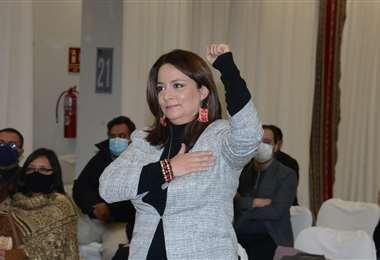 Rocío Molina, nueva gerente de Bolivia Tv. Foto: ABI