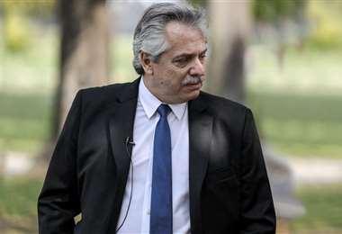 El mandatario argentino envuelto en la polémica