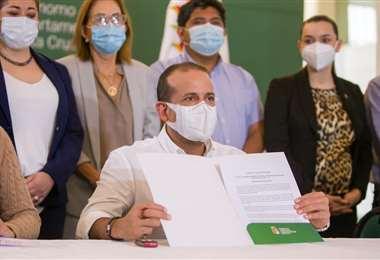 Gobernación propone ley corta para facilitar importación de vacunas. Foto: R. Barba