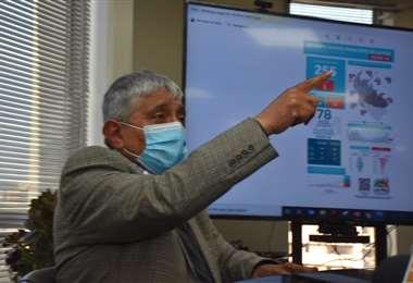 El Alcalde va tres veces por semana a atender las demandas que tiene (Foto: APG Noticias)