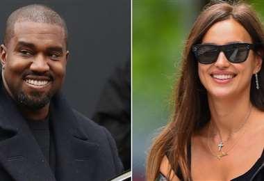 Kanye West e Irina Shayk  estuvieron de vacaciones juntos