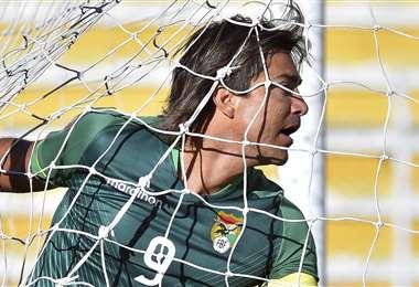 Martins lleva un promedio de un gol por partido en las eliminatorias. Foto: APG Noticias