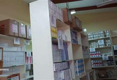 Las autoridades de Cochabamba encontraron depósitos de medicamentos de medicamentos