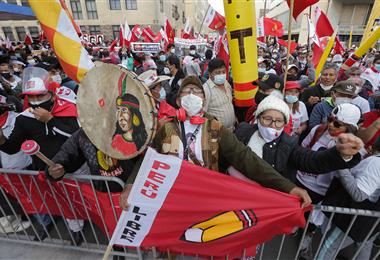 Existen gran expectativa en Perú por conocer el resultado final. Foto. AFP