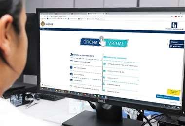 La inscripción al Re-IVA se la puede realizar en www.impuestos.gob.bo