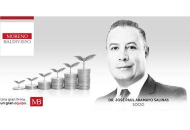 José Paul Aramayo Salinas es socio de Moreno Baldivieso