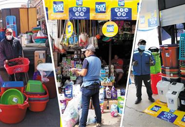 Por segunda vez participa de la campaña que apoya a pensiones y tiendas de barrio