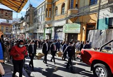 El traslado de las urnas se hizo sin asistencia de las FFAA y la Policía