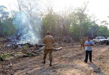 Roboré se ha declarado en emergencia por la ocupación de tierras