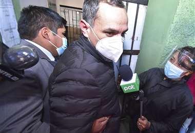El ex viceministro fue detenido el 30 de junio (Foto: APG)