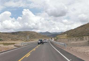 Carretera a Oruro I archivo.