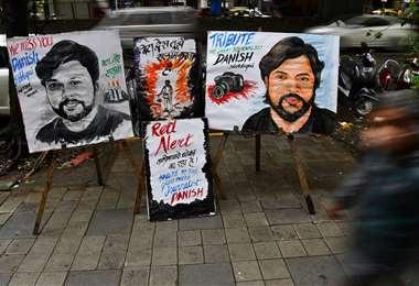 Danish Siddiqui, fotoreportero asesinado/Foto: AFP