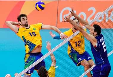Brasil siempre es candidato al oro en voleibol. Foto: internet
