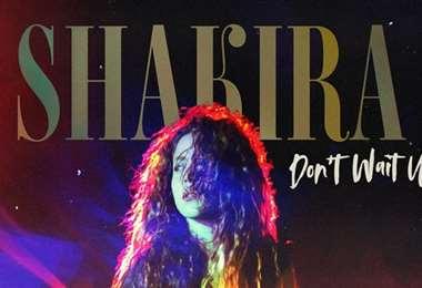 Shakira se introduce en la electrónica con Don't wait up
