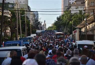Las autoridades cubanas volvieron a pronunciarse sobre la situación en su país