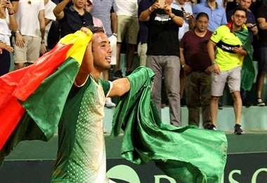 Hugo Dellien se suma al equipo boliviano que estará en Tokio. Foto: El Deber