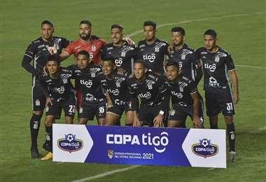 Este fue el equipo de Real Santa Cruz que empató ante Bolívar en la pasada fecha.