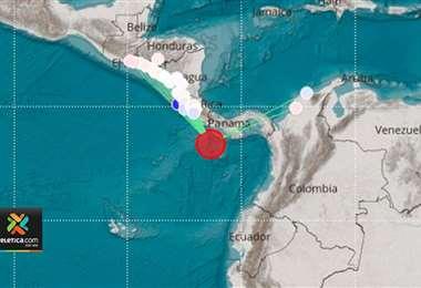 Costa Rica y Panamá afectadas por sismos