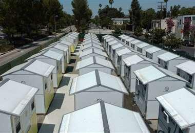 Las casas diminutas son una alternativa para los sin hogar