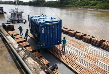 La puesta en marcha de la hidrovía beneficiará a Santa Cruz, Cochabamba, Beni y Pando
