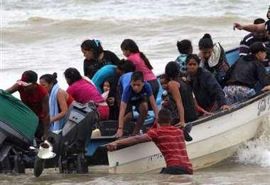 Muchos venezolanos se fueron a Trinidad y Tobago
