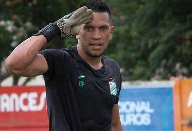 Wilson Quiñonez, arquero paraguayo de Oriente Petrolero. Foto: El Deber