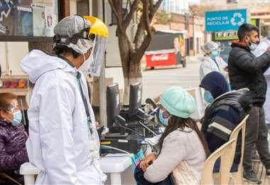 Vacunación en Tarija