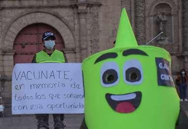 Vacunación en Bolivia