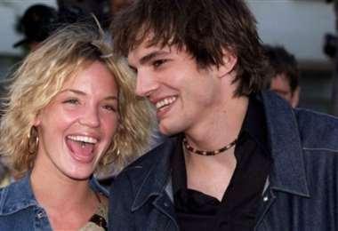 Ashton Kutcher y Ashley Ellerin salían unos pocos meses