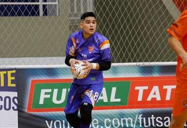 Yerko Bazán durante la final del viernes. Foto: YB