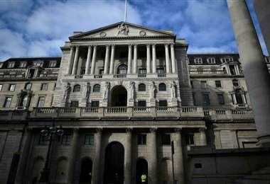 a sede del Banco de Inglaterra en Londres